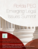 2016 Florida PEO Emerging Legal Issues Summit